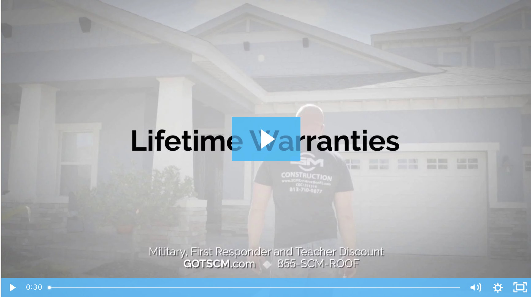 SCM Roofing - Lifetime Warranties Video